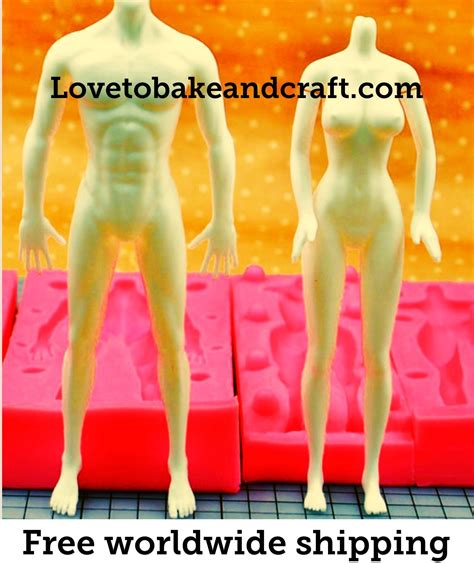figure molds clay doll mould mold figure mould mold fimo