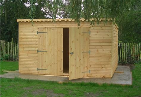 pent roof shed plans   build diy