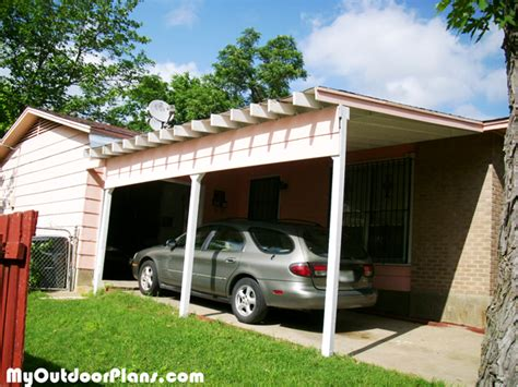 carport attached to house photos diy carport attached to house myoutdoorplans free