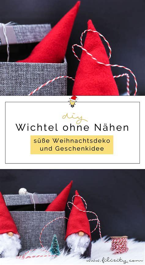 Wichtel Selber Machen by Wichtel Basteln Ohne N 228 Hen S 252 223 E Weihnachtsdeko Und