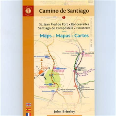 brierley camino camino de santiago maps the confraternity of