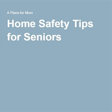 17 best images about home safety for seniors on