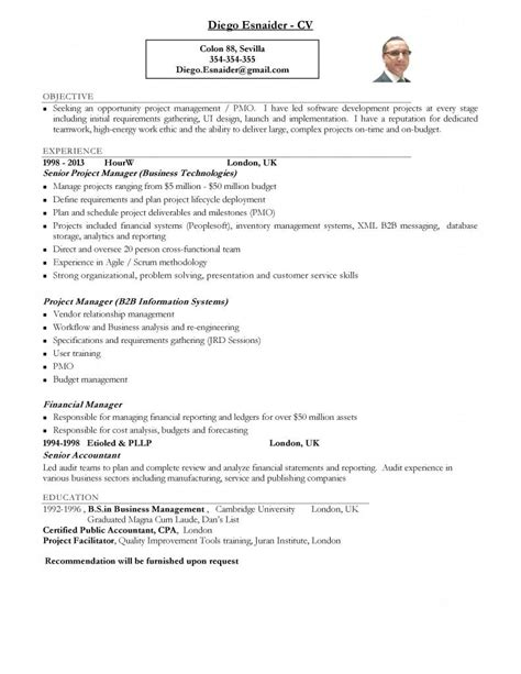 Resume For Un by Ejemplo C 243 Mo Hacer Un Resume Paperblog