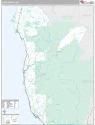 curry county oregon map curry county or zip code wall map premium style by marketmaps