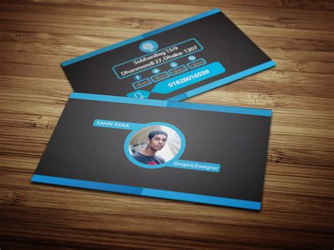 Personal Card Designer Template by Personal Business Card On Behance