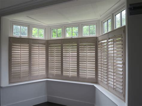 curtain fittings for bay windows bay window shutters hshire dorset shuttersouth