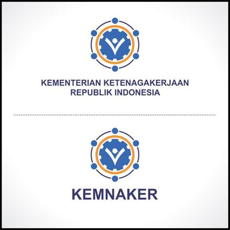 desain logo bulat kemnaker baru hellomotion com