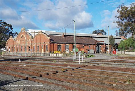 Sheds Bendigo by Railway Loco Sheds Railmac Publications