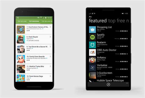 Play Store Vs Windows Store Why Is Windows Store Better For Developers Than