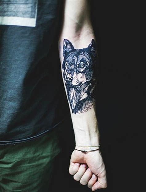 black wolf tattoo design of tattoosdesign of tattoos