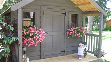 Storage Shed Plans With Porch Build A Garden Storage Building Plans For Shed With Porch