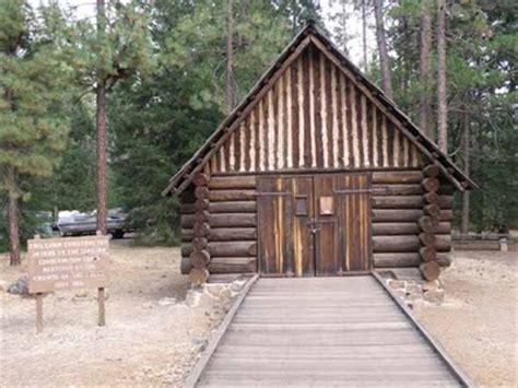 log cabin mcarthur burney falls memorial state park