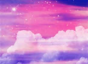 Pink clouds tumblr theme kawaii gifs anyone xd