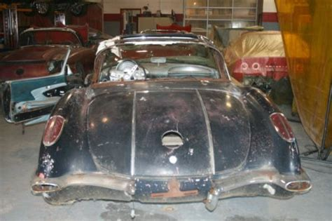 auto body repair training 1958 chevrolet corvette transmission control buy new 1958 chevrolet corvette project car plus additional chassis with engine trans in united