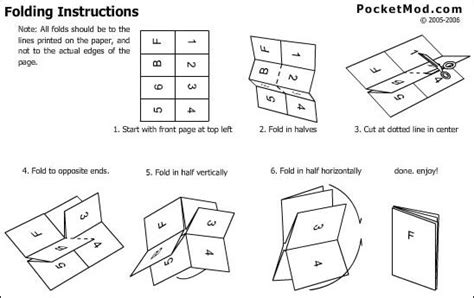 Paper Booklet Folding - home ve7pmc ca