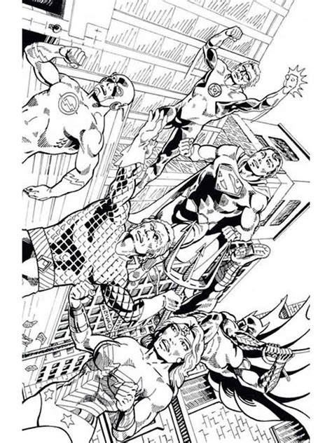 coloring pages justice justice league coloring pages free printable justice