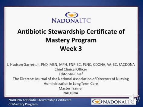 Nadona Ascom Program Week 3 Authorstream Antimicrobial Stewardship Policy Template