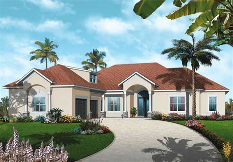 Mediterranean Bungalow House Plans by Mediterranean Bungalow House Plans Home Design Dd 3257