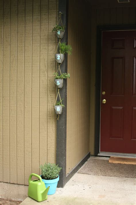 House Number Of Seasons House Number Planter Think Crafts By Createforless