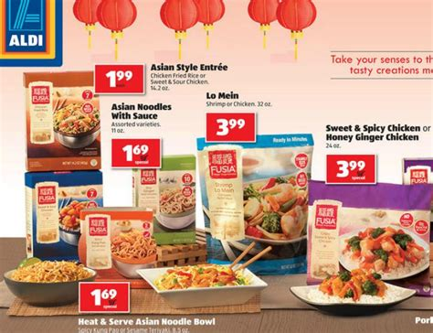 Fusia Asian Kitchen by Aldi Weekly Ad Deals 2 13 2 19
