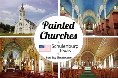 painted churches of texas tour