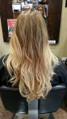 haircuts and color corvallis oregon soft mocha ombre fading to beige blonde and platinum