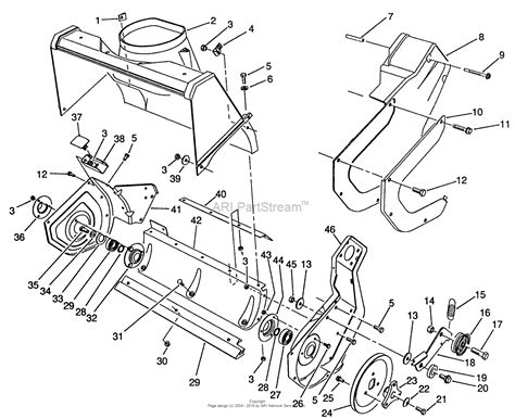 toro parts diagram toro snow blower parts toro tractor engine and wiring