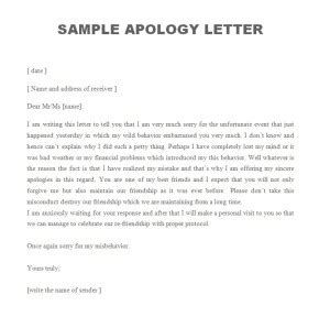 Types Of Letter Writing Letters Free Sle Letters Forgiveness Letter Template 28 Images Apology Driverlayer Search Engine Sle Forgiveness