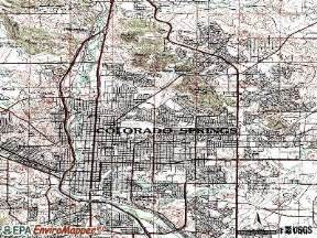 colorado springs colorado co profile population maps