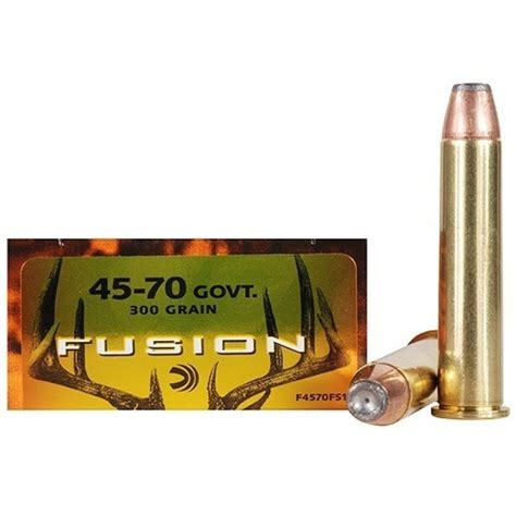 buy federal fusion 45 70 government 20rd ammos at swfa
