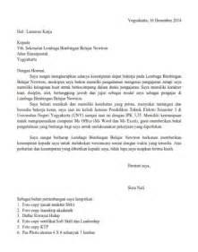 contoh surat lamaran kerja guru yang baik dan benar lengkap