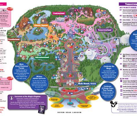 disney world magic kingdom map new calendar template site