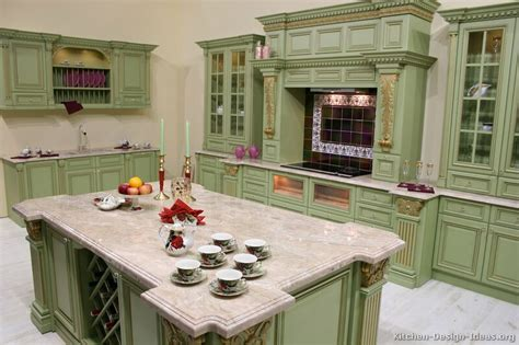 green color kitchen cabinets colored kitchen cabinets