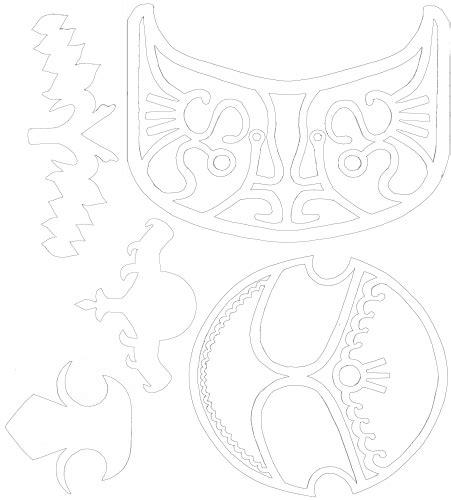 zelda pauldron pattern zelda armor pattern step by step tutorial cosplay