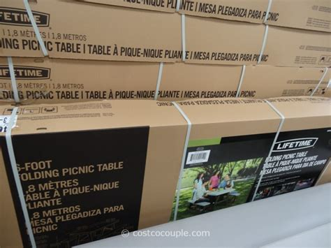 costco 6ft folding table 6ft folding table costco lifetime 6ft fold in half table