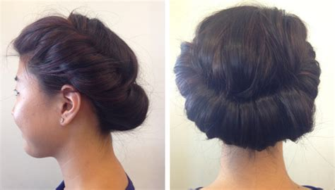 roll and set hairstyles how to the princess roll hairstyle birchbox