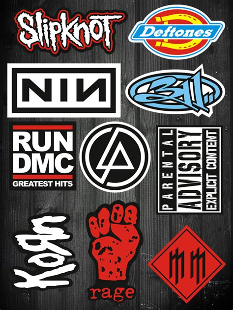 Auto Sticker Bands by Popular Band Stickers Buy Cheap Band Stickers