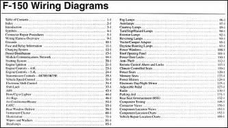 2004 ford f 150 wiring diagram manual original