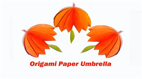 How To Make An Origami Umbrella - how to make an amazing umbrella origami umbrella