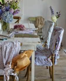 Shabby Chic Dining Room Chairs by White Pink Dining Room Chair Slipcovers Shabby Chic