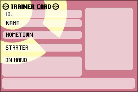 trainer card template id template images images
