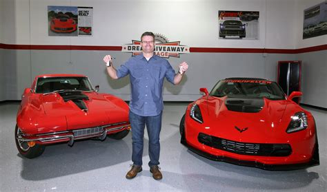 Dream Giveaways - meet the winner of the 2015 corvette dream giveaway vettetv