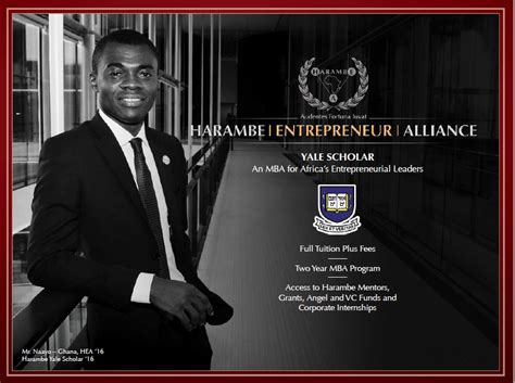 Benefits Of Mba For Entrepreneurs by Harambe Entrepreneur Alliance Hea Yale Scholar Program