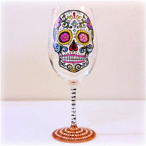 skull barware shop skull wine glass on wanelo