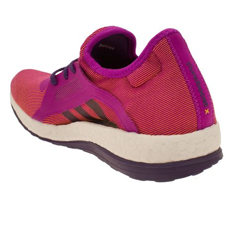 purple shoes for adidas pureboost x womens orange purple sneakers running