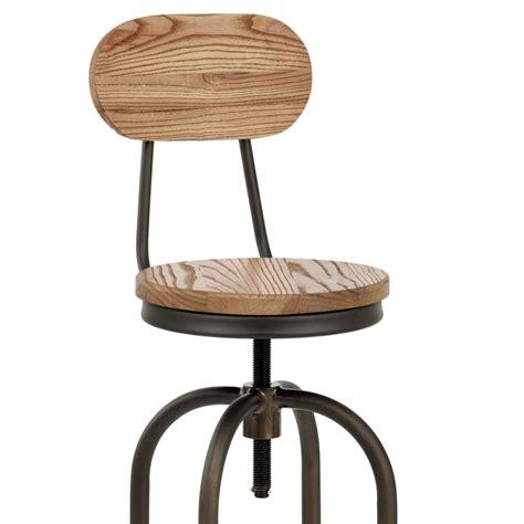sgabelli legno bar sgabello da bar swivel in legno chiaro e acciaio