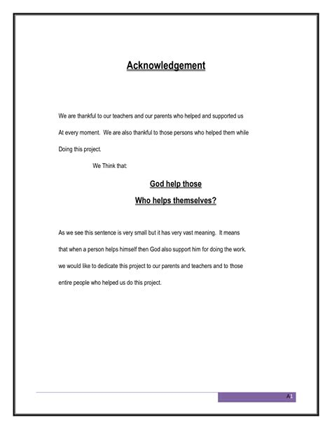 writing acknowledgements for a research paper photos acknowledgement sentence exles coloring page