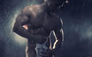 nackter mann unter der dusche wallpaper muscular the shower my hd wallpapers