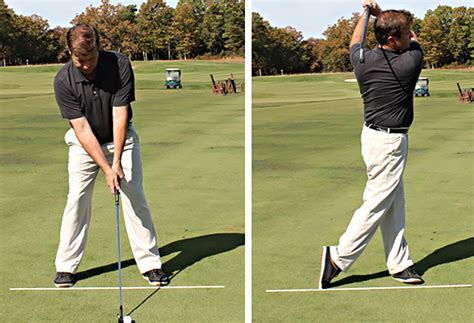 golf swing separation the abcs of aiming and the 2 minute drill golf tips magazine