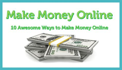 Free Online Money Making Sites - 10 real ways to make money online for free from home
